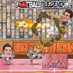Football Legends: Valentine Edition.